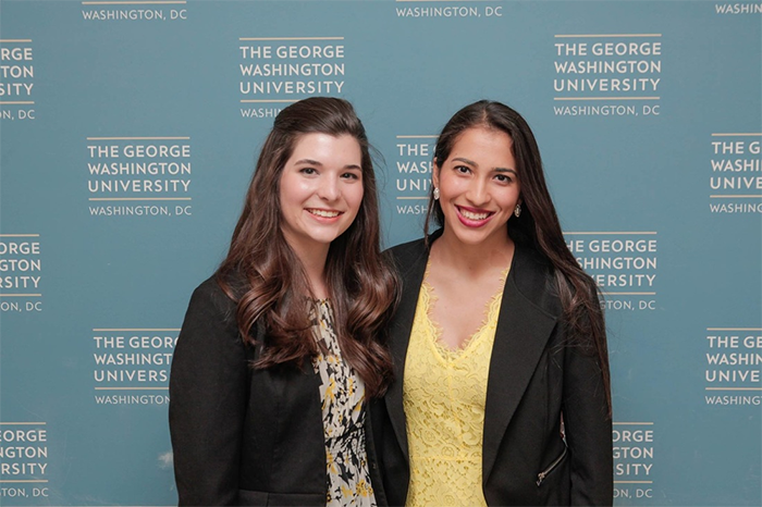 Co-founders Nora Hennessey (left) and Kyrah Altman (right)